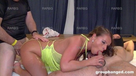 [GroupBanged] Talented Gang Bang Slut Sexy Susi