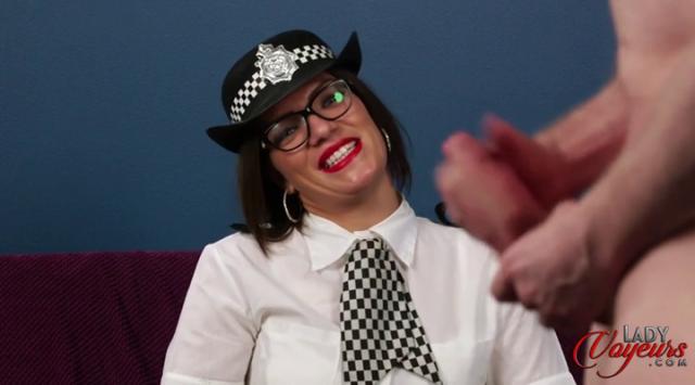 LadyVoyeurs – Police Let Off  – Porscha Byrne