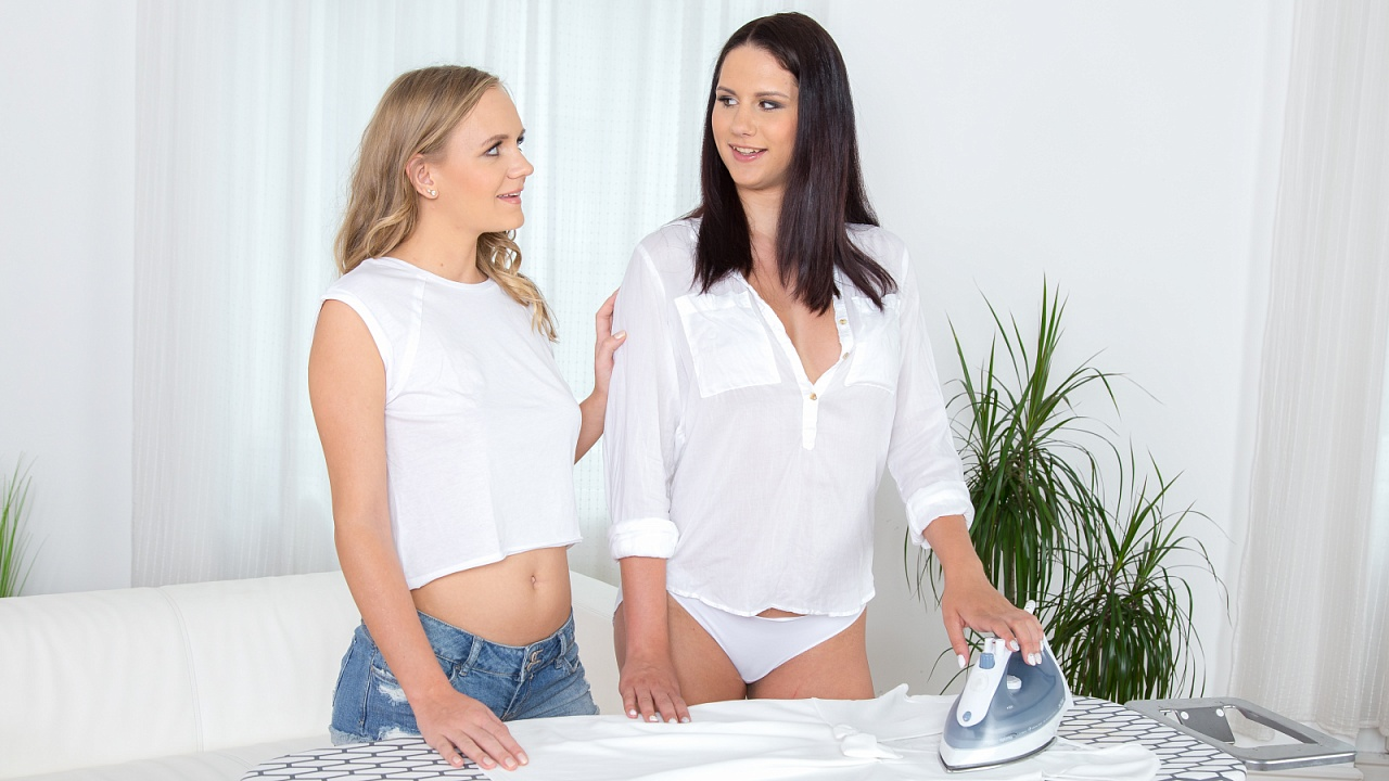 SapphicErotica – Housework duties – Gia Mulino And Jenny Diamond