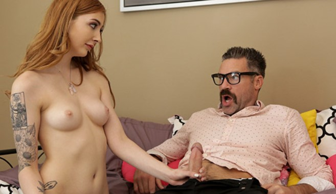 [BadTeensPunished] Megan Winters – Redhead Step Daughter