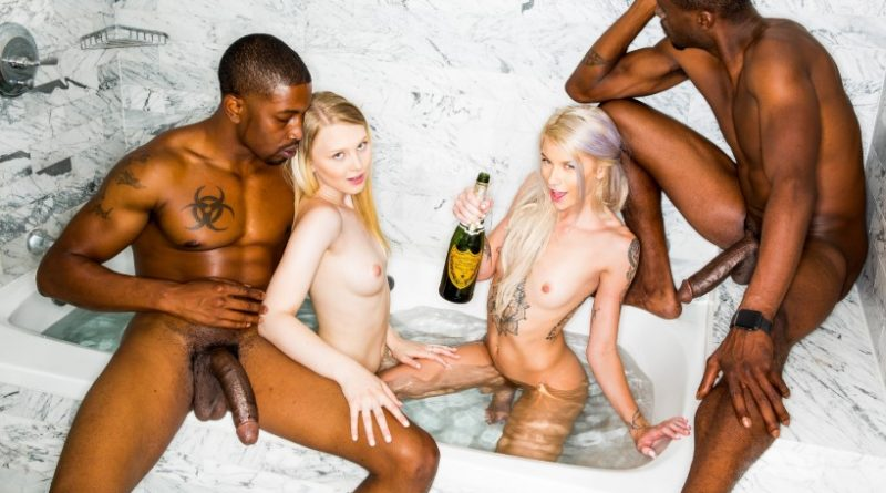 BlackedRAW – New Friends – Lily Rader, Arya Fae