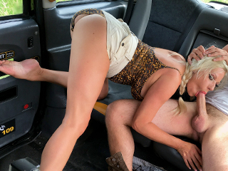 FemaleFakeTaxi – Michelle Thorne – Young, dumb and full of cum