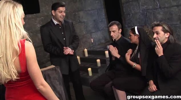[GroupSexGames] Have Faith Vicars And Tarts