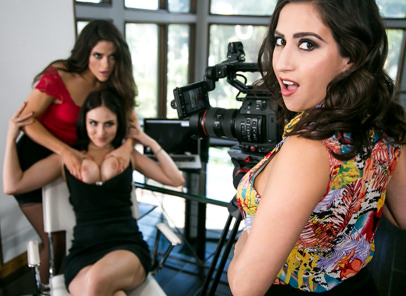 [GirlsWay] April Oneil, Jade Baker And Victoria Voxxx – Company Policy