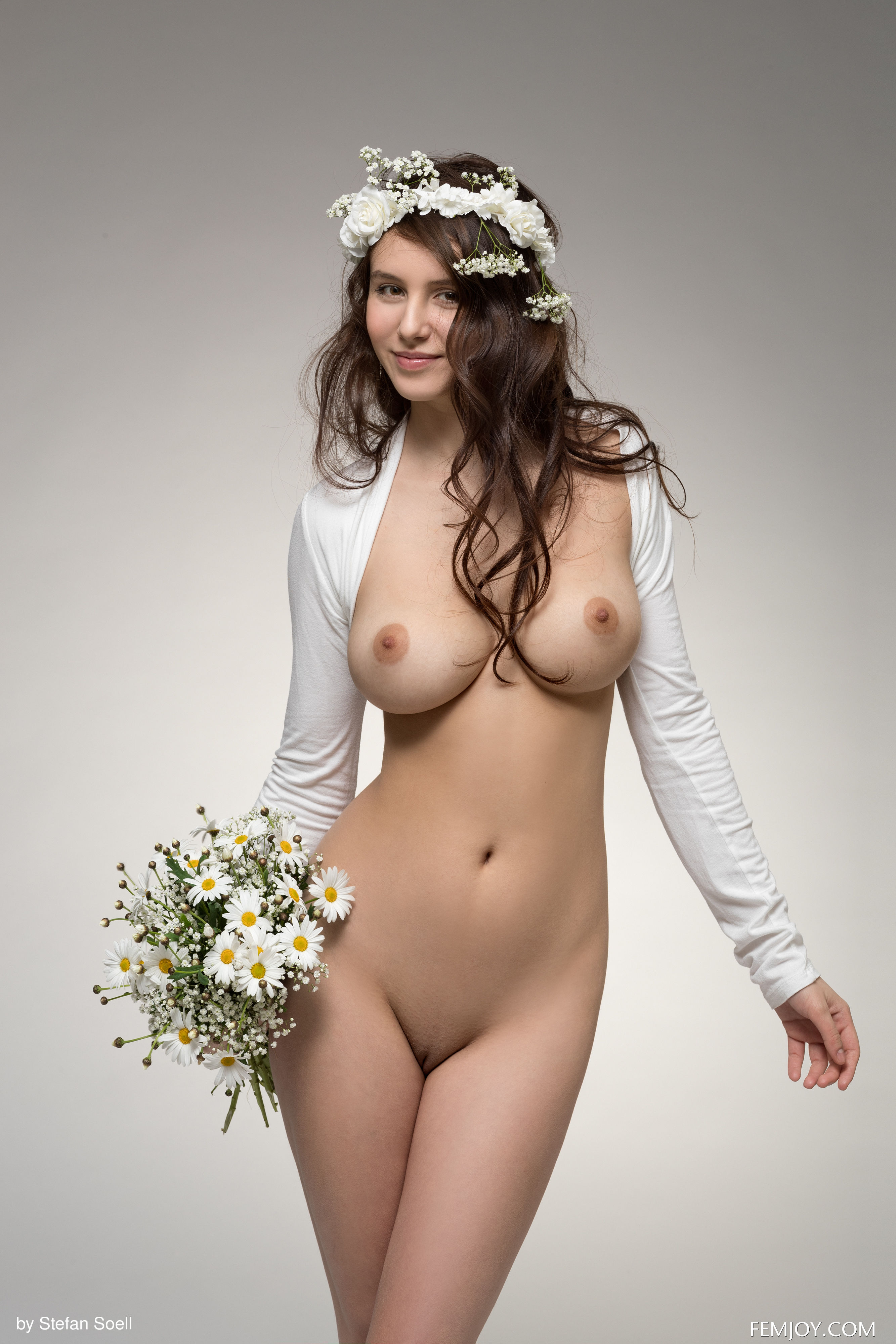 Topless bride, miosotis fucked