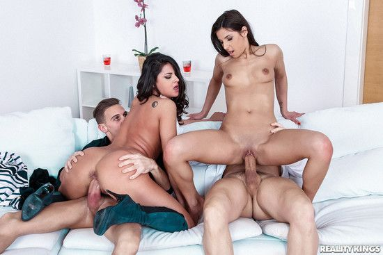 [EuroSexParties] Coco De Mal, Angela Allison – Double Date