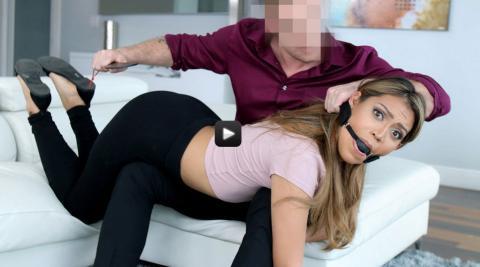 Submissived-Master Lets Loose On Docile Servant