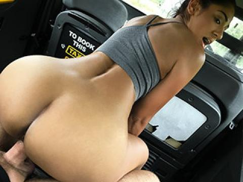 FakeTaxi – Sahara gets a hard cock workout